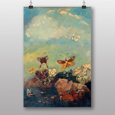 Big Box Art Butterflies by Odilon Redon Art Print