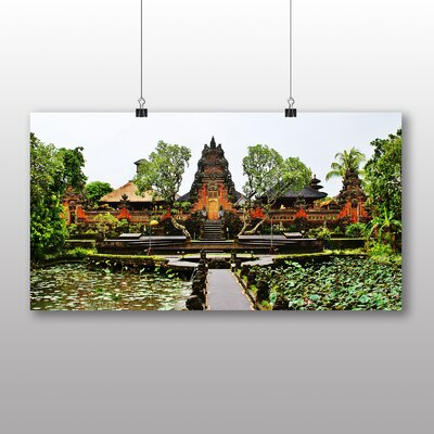 Big Box Art Ubud Temple Indonesia Photographic Print