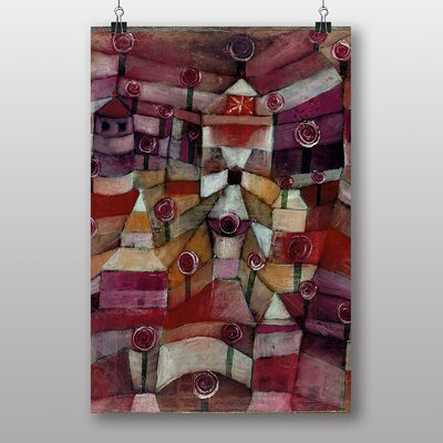 Big Box Art Rose Garden by Paul Klee Art Print