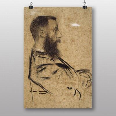"Big Box Art ""Raymond"" by Ramon Casas i Carbo Art Print"