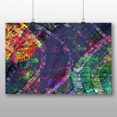 Big Box Art Coloured Abstract No.7 Art Print