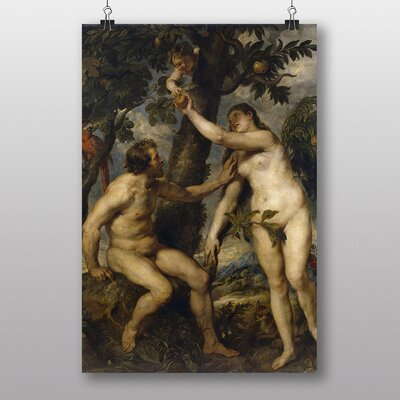 "Big Box Art ""The Fall of Man"" by Peter Paul Rubens Art Print"