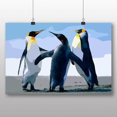 Big Box Art Penguins Graphic Art