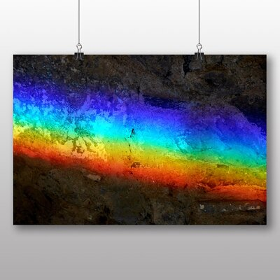 Big Box Art Rainbow Abstract No.3 Graphic Art