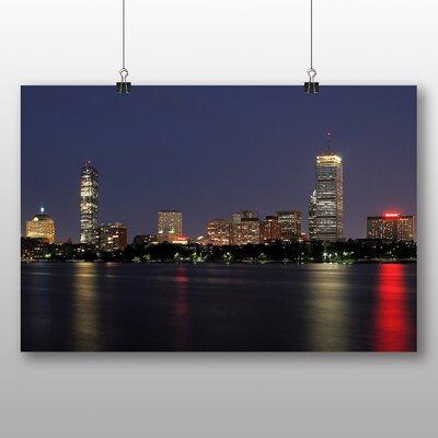 Big Box Art Massachusetts Boston Skyline USA No.2 Photographic Print