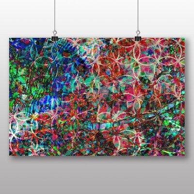 Big Box Art Coloured Abstract No.3 Art Print