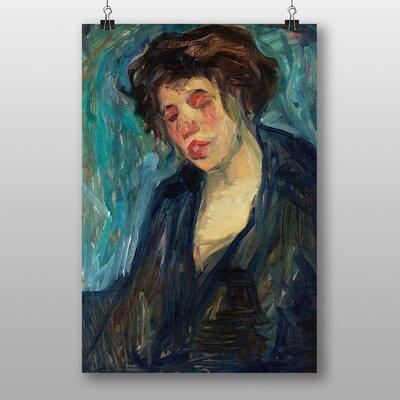 Big Box Art Portrait of a Woman by Nils von Dardel Art Print