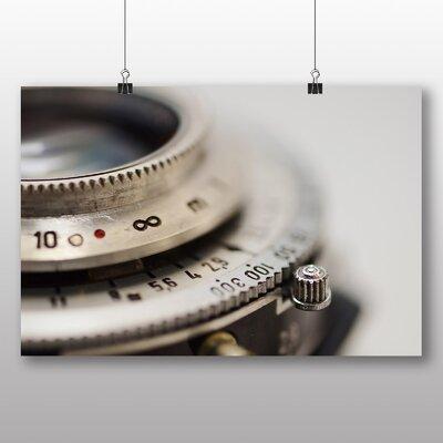 Big Box Art Lens Shutter Vintage Camera No.2 Photographic Print