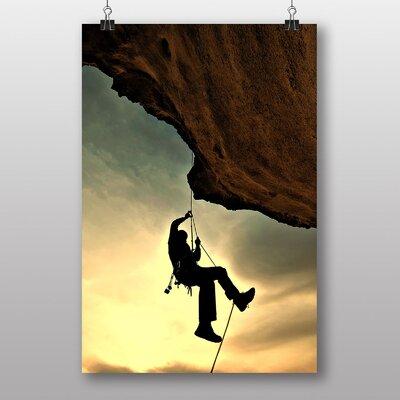 Big Box Art Rock Mountain Climbing Photographic Print