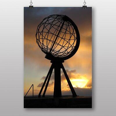 Big Box Art North Cape Globe Norway Photographic Print