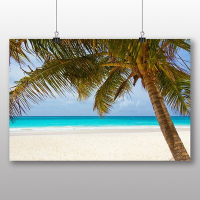 Big Box Art Palm Tree Tropical Beach Paradise No.3 Photographic Print