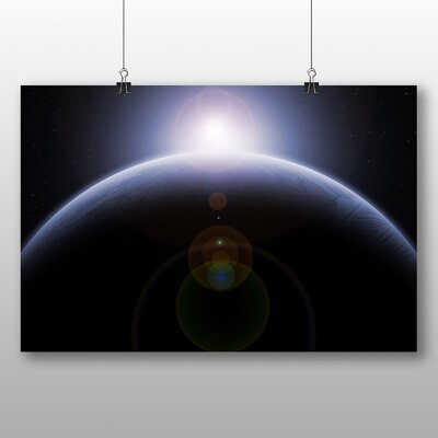 Big Box Art Space Planets No.9 Photographic Print