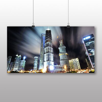 Big Box Art Shanghai China Skyline No.3 Graphic Art