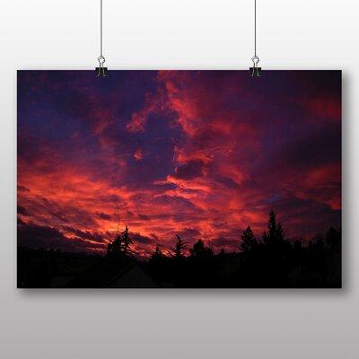 Big Box Art Sunset in Prague No.1 Photographic Print