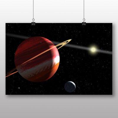 Big Box Art Space Planets No.10 Graphic Art