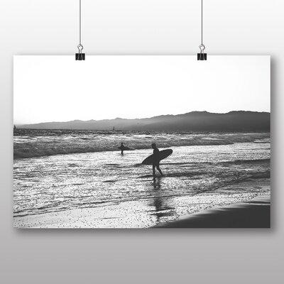 Big Box Art Surfing Surfboard No.2 Photographic Print