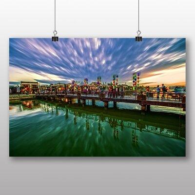 Big Box Art Sunset No.15 Photographic Print
