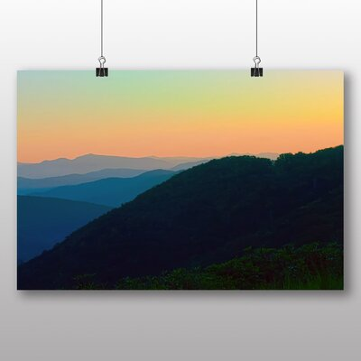 Big Box Art The Great Smoky Mountains USA Graphic Art