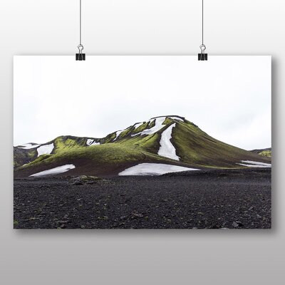 Big Box Art Snow on Hills Graphic Art
