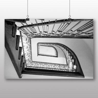 Big Box Art Stairwell Architecture No.3 Photographic Print