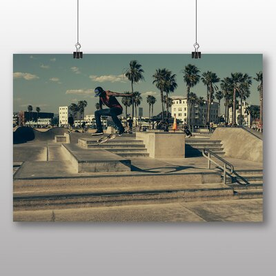 Big Box Art Skateboard Skateboarding No.5 Photographic Print