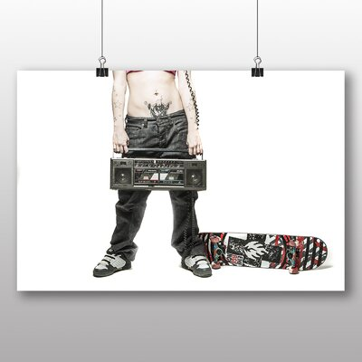 Big Box Art Skateboard Photographic Print