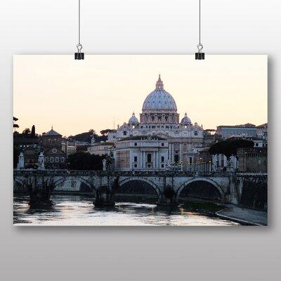 Big Box Art St. Peters Basilica Rome Italy Photographic Print