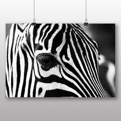 Big Box Art Zebra No.2 Photographic Print