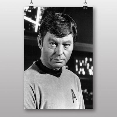 Big Box Art Star Trek Deforest Kelley Photographic Print
