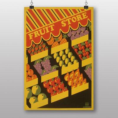 Big Box Art Fruit Store Vintage Advertisement