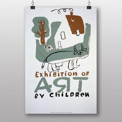 Big Box Art Exhibition No.62 Vintage Advertisement