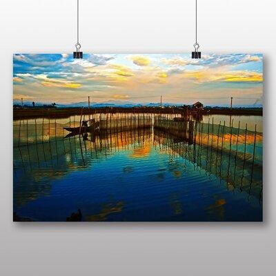 Big Box Art Sunset Reflections Photographic Print