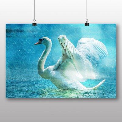 Big Box Art swan No.3 Graphic Art
