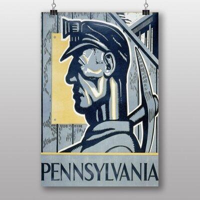Big Box Art Pennsylvania Vintage Advertisement