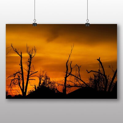 Big Box Art Oklahoma Sunset Photographic Print