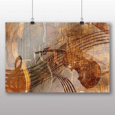Big Box Art Violin Instrument No.1 Graphic Art