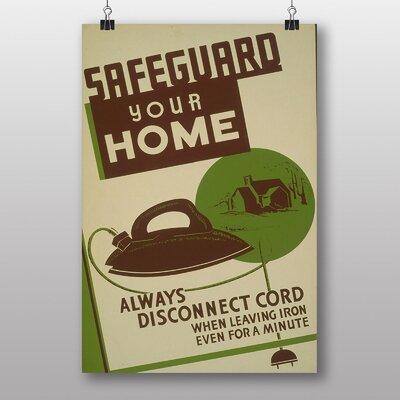 Big Box Art Safeguard Your Home Vintage Advertisement