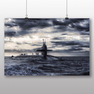 Big Box Art Submarine No.2 Photographic Print