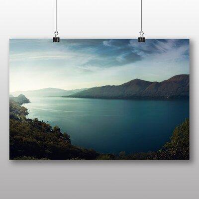 Big Box Art Sunlight Over a Lake Photographic Print