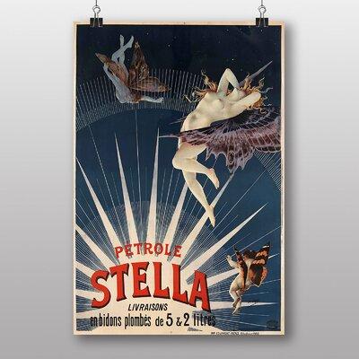 Big Box Art Petrole Stella Vintage Advertisement