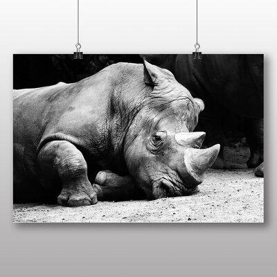 Big Box Art Rhino Photographic Print