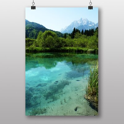 Big Box Art Slovenia Lake Landscape No.3 Photographic Print