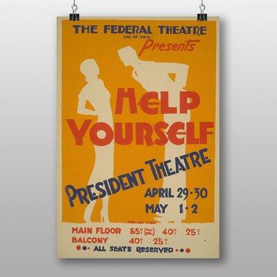 Big Box Art Help Yourself No.5 Vintage Advertisement