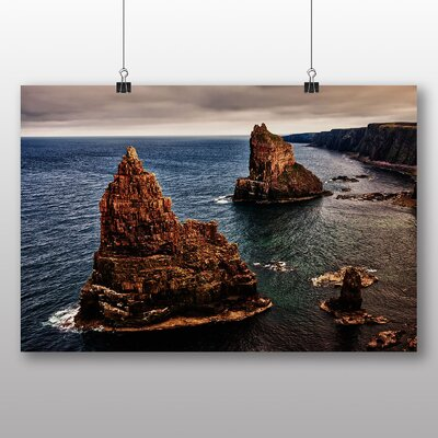Big Box Art Stacks of Duncansby Scotland Photographic Print