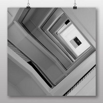 Big Box Art Stairwell Architecture No.2 Photographic Print