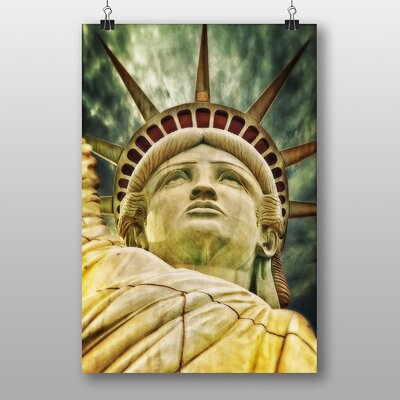 Big Box Art Statue of Liberty New York USA No.8 Graphic Art