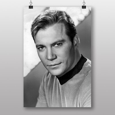 Big Box Art Star Trek William Shatner Photographic Print