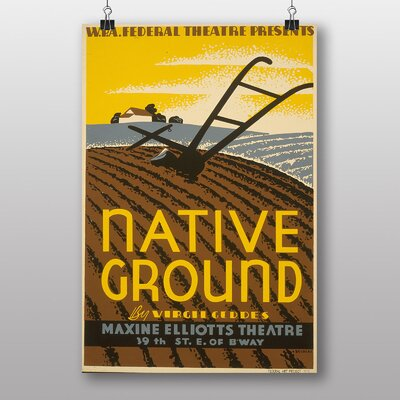 Big Box Art Native Ground Vintage Advertisement