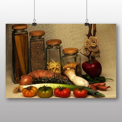Big Box Art Vegetables and Pasta Photographic Print