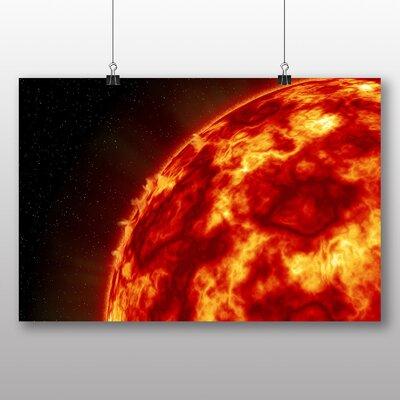 Big Box Art Sun in Space No.2 Graphic Art